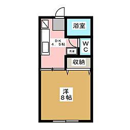 グルメマンション[1階]の間取り