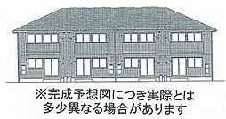 (仮)D-room福島1丁目 A棟[1階]の外観