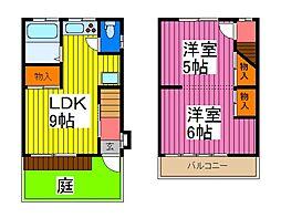 [テラスハウス] 埼玉県川口市上青木西2丁目 の賃貸【/】の間取り