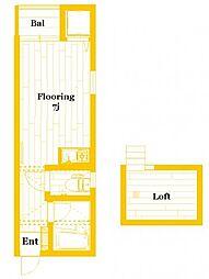 サンサーラ泉弐番館[2階]の間取り