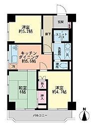 ポートハイム戸塚[1階]の間取り