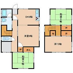 [一戸建] 石川県金沢市山科2丁目 の賃貸【/】の間取り
