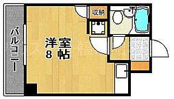 朝日プラザ大濠Ⅱ[1階]の間取り