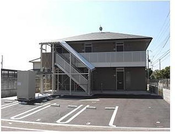 兵庫県姫路市白浜町乙の賃貸アパートの外観