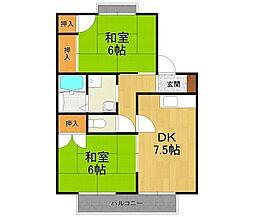神田ハウス2[1階]の間取り