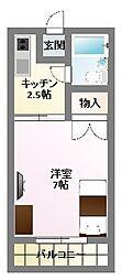 メゾンシーマ[102号室]の間取り
