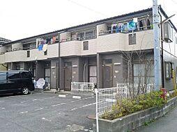 埼玉県三郷市戸ケ崎の賃貸アパートの外観