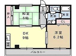 メゾンエスポワール[3階]の間取り