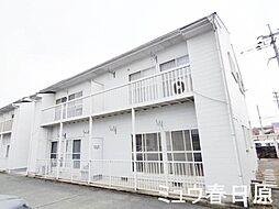 福岡県春日市大字下白水の賃貸アパートの外観