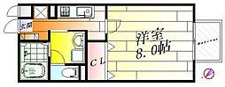 メドウズ[1階]の間取り