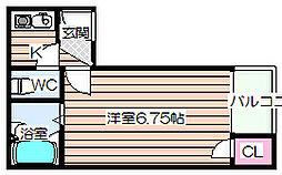 シャルマンJS[5階]の間取り