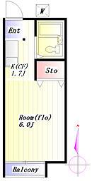 センチュリー21[2階]の間取り
