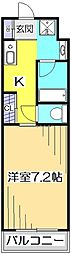 アメニティコウヤマ第15ガーデン[3階]の間取り