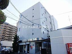 岡山県岡山市北区西古松の賃貸マンションの外観