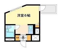 神奈川県川崎市多摩区長尾7丁目の賃貸マンションの間取り