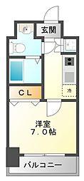 T's square江坂[8階]の間取り