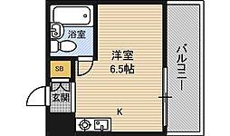 藤井三国マンション[1階]の間取り
