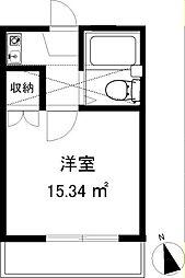 スリージェ桜ヶ丘II[102号室]の間取り