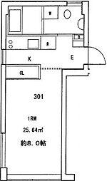 ベルファース芝パルク[3階]の間取り