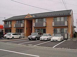 山形県山形市馬見ケ崎1丁目の賃貸アパートの外観