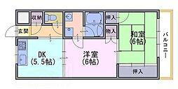 トモヒサ1[2階]の間取り