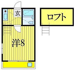 ヤングハウスI[1階]の間取り