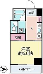 K.C.B.神台[4階]の間取り