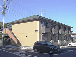 茨城県水戸市元吉田町の賃貸アパートの外観