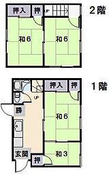 [一戸建] 三重県松阪市垣鼻町 の賃貸【三重県 / 松阪市】の間取り