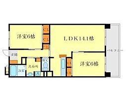 メゾン・ユートピアARAKI[2階]の間取り