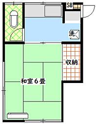 落合駅 4.3万円