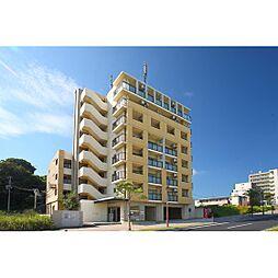 福岡県北九州市若松区ひびきの南1丁目の賃貸マンションの外観