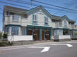 埼玉県春日部市新川の賃貸アパートの外観