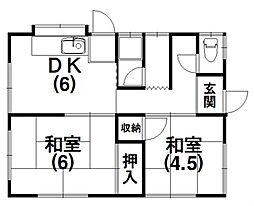 [一戸建] 静岡県浜松市中区葵東3丁目 の賃貸【/】の間取り