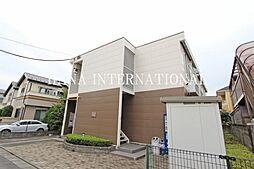 東京都国分寺市本多3丁目の賃貸アパートの外観