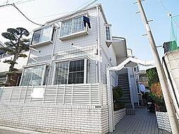 東京都足立区西綾瀬4丁目の賃貸アパートの外観