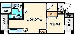 ビッグフォレスト[5階]の間取り