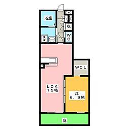 LIEN[1階]の間取り