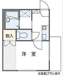 田隅(2)[1階]の間取り