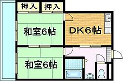 パークテラス瀬田[2階]の間取り