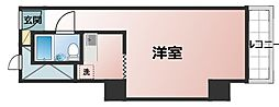 チサンマンション第8新大阪[5階]の間取り