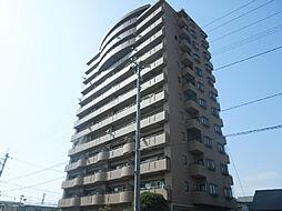 愛媛県松山市土居町の賃貸マンションの外観