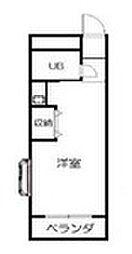 ランドフォレスト南柏2[2階]の間取り