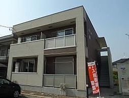 栃木県宇都宮市今宮2丁目の賃貸アパートの外観