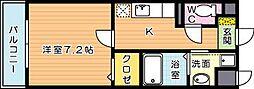 aube春の町(オーブ春の町)[2階]の間取り