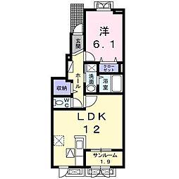 ラッフィナートIII[1階]の間取り