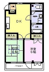 第7池田マンション[4階]の間取り