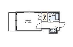成城[2階]の間取り