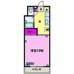 PLAZA栄新町[1階]の間取り