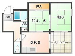 セントレケイ[2階]の間取り